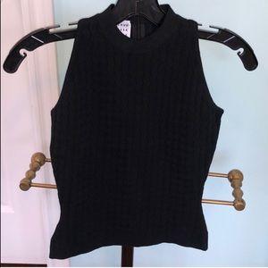 HL Paris Black Knit Top